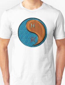 Pisces & Tiger Yang Wood Unisex T-Shirt
