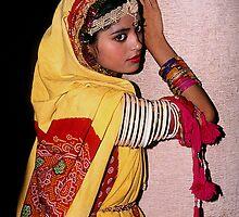 A Folk Dancer of Rajasthan (INDIA) by satwant