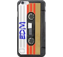 EDM - Electronic Dance Music cassette tape iPhone Case/Skin