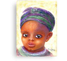 Bright Eyes Canvas Print