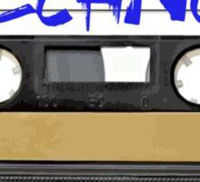 Techno Music Cassette Tape Sticker