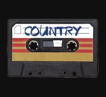 COUNTRY MUSIC CASSETTE TAPE by RestlessSoul