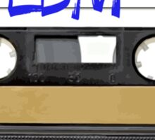 EDM - Electronic Dance Music cassette tape Sticker