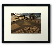 Point King - Portsea 'Shadows' Framed Print