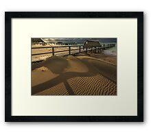 Point King - Portsea 'Shadows' Framed Print