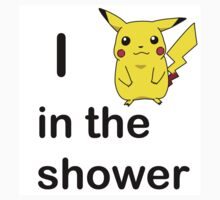"""I """"PEAK AT CHU"""" IN THE SHOWER by aholetees"""