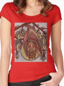 Bat Tee Women's Fitted Scoop T-Shirt