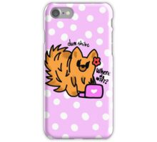 Pom iPhone Case/Skin
