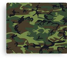 Army Camouflage  Canvas Print