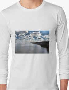 The Sky Meets the River Long Sleeve T-Shirt