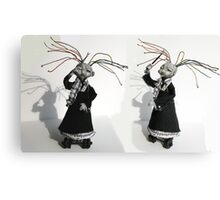 Electrifying Conductor - art doll sculpture, goth Canvas Print