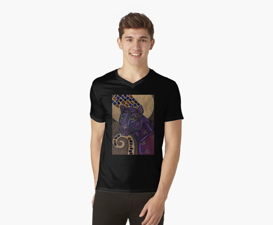 Panther Tee by Lynnette Shelley