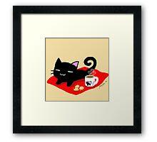 Jiji Tea Time Framed Print