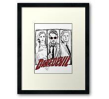 Daredevil Comic Framed Print