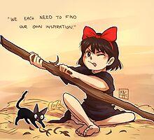Kiki's Delivery Service - Inspiration by Keikilani