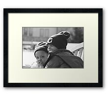 Andre and Kaitlyn Framed Print