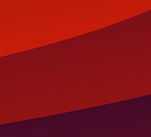 Red Orange and Purple Diagonals by Sue Smith