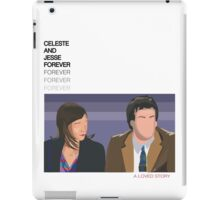 Celeste and Jesse Forever iPad Case/Skin