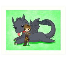 How to Train Your Dragon 2 Art Print