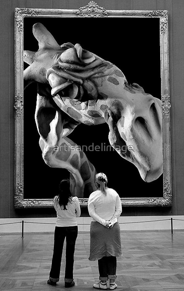 Art Looking At You Looking At Art by artisandelimage