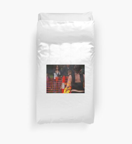 hot arm Duvet Cover
