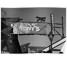 Redondo Beach Pier Wharf Entering  Poster