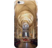 Canterbury Cathedral Interior iPhone Case/Skin