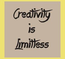 Homage/Creativity is Limitless  One Piece - Short Sleeve