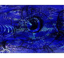 Blunt Fish Blue Photographic Print