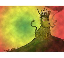 Rasta Lion Photographic Print