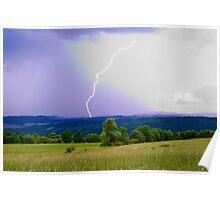 The Thunder Rolls Poster