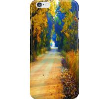 Barefoot Lane iPhone Case/Skin