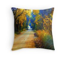 Barefoot Lane Throw Pillow