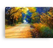 Barefoot Lane Canvas Print