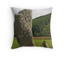 Nether Largie Megalith Throw Pillow