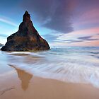Queen Bess Rock, Bedruthan, Cornwall by outwest photography.co.uk