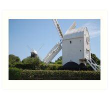 Jack & Jill Windmills Art Print