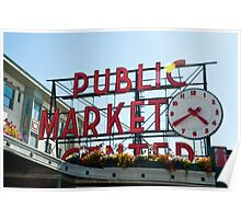 Pike Place Market Poster