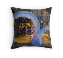 Imaginarium Shop Window Throw Pillow