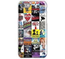 Musicals Collage leggings iPhone Case/Skin