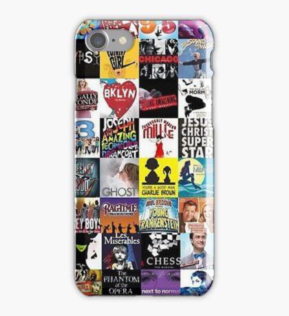 Musicals Collage leggings iPhone Case/Skin