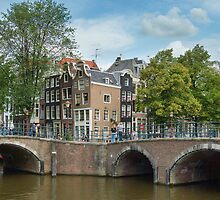 Amsterdam - Old Town by Anatoliy