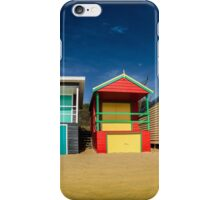 Beach Boxes iPhone Case/Skin
