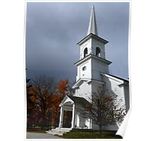 First Congregational Church of Andover, ME Poster