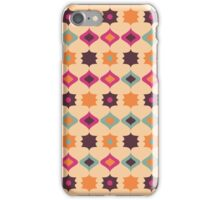 Seamless retro pattern geometrical vector texture iPhone Case/Skin
