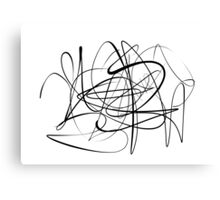 Dr.Squiggle Canvas Print