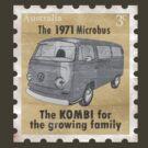 Volkswagen Kombi Tee Shirt - Lowlight Stamp by KombiNation