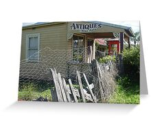 Antiques Shop II Greeting Card