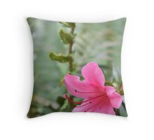 Artsy Azalea Throw Pillow