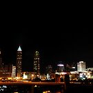 Cleveland Ohio Skyline III by PJS15204